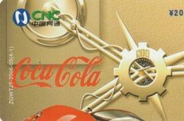 CHINA. COCA COLA. COCHE FERRARI. ZGWTJT-2006-05(4-1). (189). - Rompecabezas