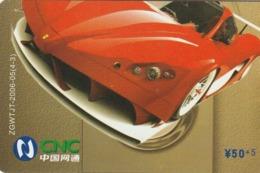 CHINA. COCA COLA. COCHE FERRARI. ZGWTJT-2006-05(4-3). (190). - Puzzles