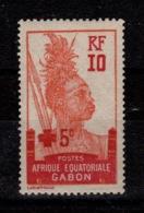 Gabon - YV 81 N* Croix Rouge - Gabon (1886-1936)