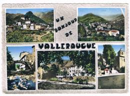 VALLERAUGUE  30  Vue Générale Avec 5 Photos 1961 - Valleraugue