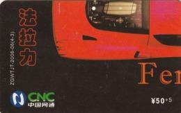 CHINA. COCA COLA. COCHE FERRARI ENZO. ZGWTJT-2006-06(4-3). (192). - Rompecabezas