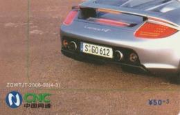 CHINA. COCA COLA. COCHE PORSCHE CARRERA GT. ZGWTJT-2006-08(4-3). (194). - Rompecabezas
