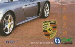 CHINA. COCA COLA. COCHE PORSCHE CARRERA GT. ZGWTJT-2006-08(4-4). (195). - Puzzles