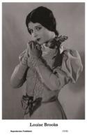 LOUISE BROOKS - Film Star Pin Up PHOTO POSTCARD - 155-81 Swiftsure Postcard - Artistas