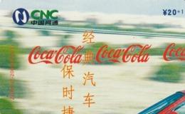 CHINA. COCA COLA. COCHE FERRARI. ZGWTJT-2006-07(4-1). (196). - Rompecabezas