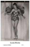 LOUISE BROOKS - Film Star Pin Up PHOTO POSTCARD - 155-82 Swiftsure Postcard - Artistas