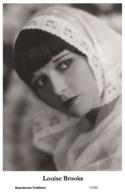 LOUISE BROOKS - Film Star Pin Up PHOTO POSTCARD - 155-83 Swiftsure Postcard - Artistas