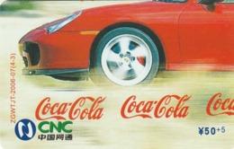 CHINA. COCA COLA. COCHE FERRARI. ZGWTJT-2006-07(4-3). (197). - Rompecabezas