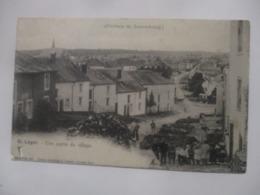INTROUVABLE CPA CP BELGIQUE PROVINCE DE LUXEMBOURG SAINT-LÉGER V1910 UNE PARTIE DU VILLAGE / ANIMATION ED V. KREMER N°62 - Saint-Léger