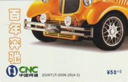 CHINA. COCA COLA. COCHE BUFORI. ZGWTJT-2006-25(4-3). (199). - Rompecabezas