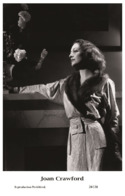 JOAN CRAWFORD - Film Star Pin Up PHOTO POSTCARD - 24-138 Swiftsure Postcard - Artistas