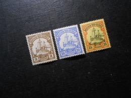 D.R.Mi 7/10/11 - 3/20/25Pf*MLH -  Deutsche Kolonien (Neuguinea) 1900 - Mi 5,50 € - Colonie: Nouvelle Guinée