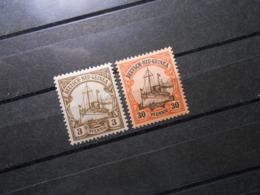 D.R.Mi 7/12 - 3/30Pf*MLH -  Deutsche Kolonien (Neuguinea) 1900 - Mi 3,50 € - Colonia: Nueva Guinea