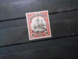 D.R.Mi 13 - 40Pf**MNH -  Deutsche Kolonien (Neuguinea) 1900 - Mi 5,00 € - Colony: German New Guinea