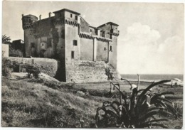 W4567 Santa Marinella (Roma) - Castello Di Santa Severa - Castle Chateau Schloss Castillo / Viaggiata 1956 - Other Cities