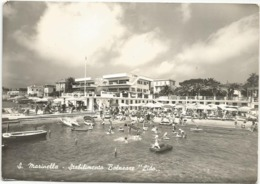 W4568 Santa Marinella (Roma) - Stabilimento Balneare Lido / Non Viaggiata - Other Cities