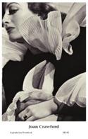 JOAN CRAWFORD - Film Star Pin Up PHOTO POSTCARD - 24-142 Swiftsure Postcard - Artistas