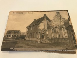 Leke - Ruines Ruins 1914-18 Rue De L'eglise  - (Diksmuide) - Diksmuide