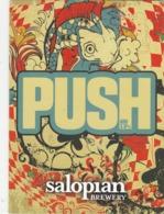 SALOPIAN BREWERY (HADNALL, ENGLAND) - PUSH - PUMP CLIP FRONT - Uithangborden