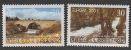 Chypre Europa 2001 N° 984/ 985 ** L'eau - 2001