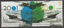 Croatie Europa 2001 N° 537/ 538 ** L'eau - 2001