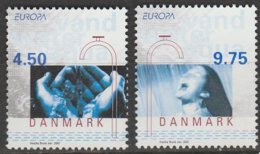 Danemark Europa 2001 N° 1280/ 1281 ** L'eau - 2001