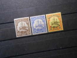 D.R.Mi 7/10/11 - 3/20/25Pf*MLH -  Deutsche Kolonien (Neuguinea) 1900 - Mi 5,50 € - Kolonie: Duits Nieuw-Guinea
