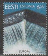 Estonie Europa 2001 N° 385 ** L'eau - 2001