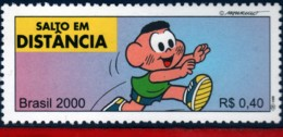 Ref. BR-2765Q BRAZIL 2000 SPORTS, OLYMPICS, LONG JUMP,, MONICA'S TEAM, COMICS, MI# 3095, MNH 1V Sc# 2765Q - Salto