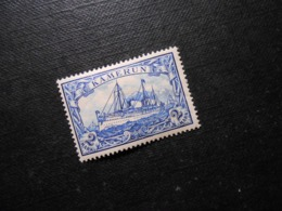 D.R.17  2M*/MLH  Deutsche Kolonien (Kamerun) 1900  Mi 6,50 € - Colony: Cameroun