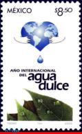 Ref. MX-2343 MEXICO 2003 NATURE, YEAR OF FRESH WATER,, MI# 3045, MNH 1V Sc# 2343 - Umweltschutz Und Klima