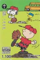 Carte Prépayée Japon - BD Comics - SNOOPY ** Sport Golf ** - PEANUTS Japan Prepaid Bus Card - Chien Dog - 2771 - Fumetti