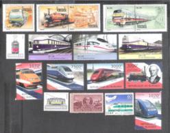 669  Trains - Lot - Free Shipping - See Description - 2,85  G30 - Trains