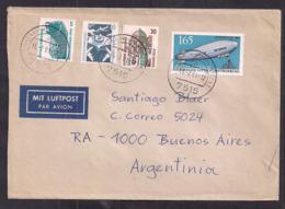 Deustche Bundespost - 1991 - Brief - Briefmark LZ 127 Zeppelin - [7] République Fédérale
