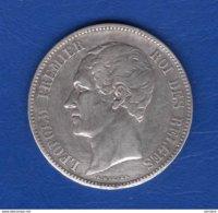 5 Fr 1849  Arg - 1831-1865: Léopold I