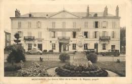""". CPA  FRANCE  45 """"  Montargis,  Le Grand Hôtel De La Poste"""" - Montargis"""