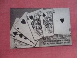 The Fortune Teller Read The Cards    Ref   3602 - Cartes à Jouer