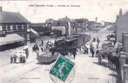 80 - Somme -  FORT MAHON - PLAGE - Arrivée Du Tramway - Fort Mahon