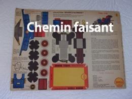 SHELL BERRE - BOLIDES D'AUTREFOIS Carton Prédécoupé Shell N°1 FORD 1908 - Paper Models / Lasercut