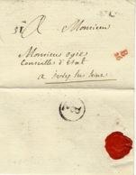 Sans Date - 1ère Période - Petite Poste De Paris - Remise à Un Boitier  B / 26  4 E Lvee  31   Au Dos - Facteur  B / 2 - 1701-1800: Précurseurs XVIII