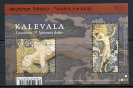 Finland 2004 Norse Gods MS MUH - Finland