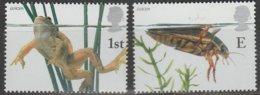 Grande-Bretagne Europa 2001 N° 2262/ 2263 ** L'eau - Europa-CEPT