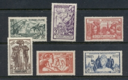 Guadeloupe 1937 Paris International Expo MLH - Guadalupe (1884-1947)