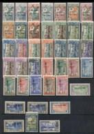Inini 1932-44 Pictorials Opt On French Guyana Asst MLH/FU - Inini (1932-1947)