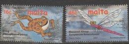 Malte Europa 2001 N° 1140/ 1141 ** L'eau - Europa-CEPT
