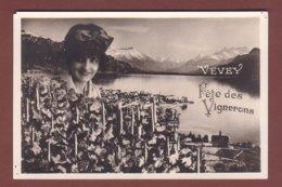 Vaud - VEVEY - Fête Des Vignerons - Peu Courant Ainsi // Petits Trous // - VD Vaud