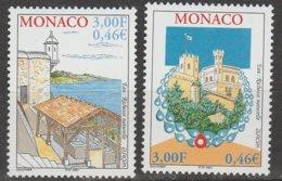 Monaco Europa 2001 N° 2298/ 2299 ** L'eau - 2001