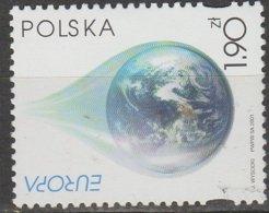 Pologne Europa 2001 N° 3656 ** L'eau - 2001