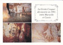 13----CASSIS MARSEILLE--la Grotte Cosquer Découverte En 1991 Entre Marseille Et Cassis--voir 2 Scans - Cassis