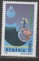 Roumanie Europa 2001 N° 4674 ** L'eau - 2001